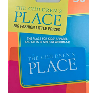 The Children's Place $50 Gift Card for $39!