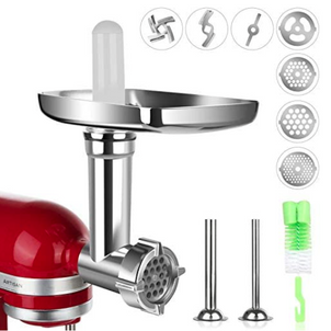 Meat Grinder Attachment for KitchenAid Stand Mixers, $25.79 (Reg. $42.99)