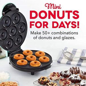 Dash Mini Donut Maker $17.99 (Reg. $24.99)
