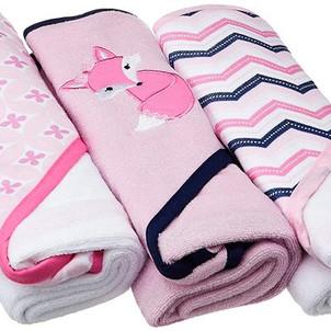 Hooded Baby Bath Towels (3-Pack) $5.67 (Reg. $14.99)