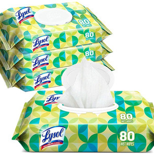 Lysol Handi-Pack Disinfecting Wipes, (4-Pack) $14.99!