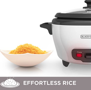 Rice Cooker and Food Steamer $14.99 (Reg. $19.99)