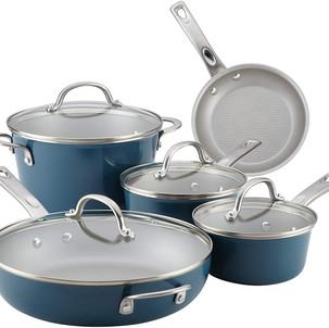 Ayesha Curry Cookware 9-Piece Set $64.99 (Reg. $99.99)