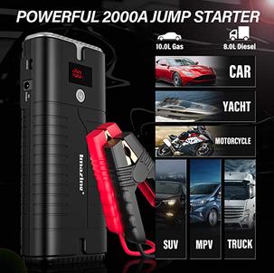Portable Car Jump Starter $41.99 (Reg. $79.99)
