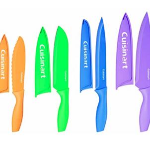 Cuisinart 12-Piece Knife Set Multicolor, Now $14.99!