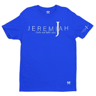 Jeremiah Logo Tee (Available in Youth)
