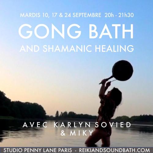 Gong Bath and Shamanic healing