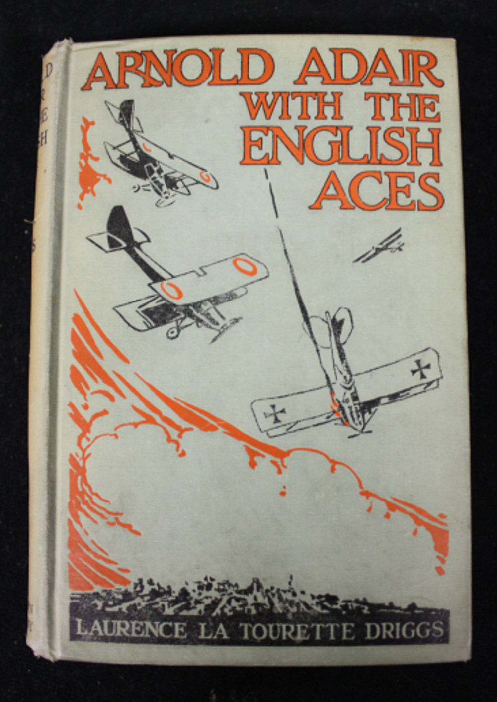 The cover of one of Driggs' novels featuring Arnold Adair.