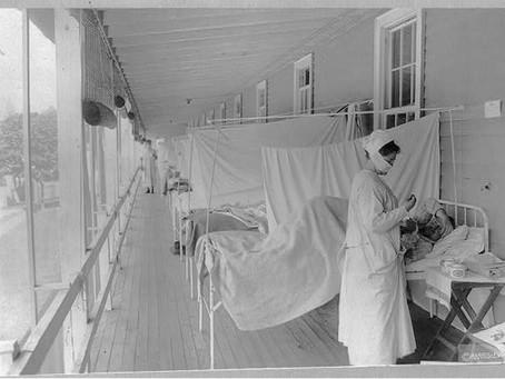 Spanish flu struck a century ago