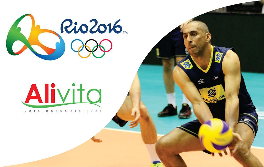 Alivita nas Olimpíadas - Vôlei