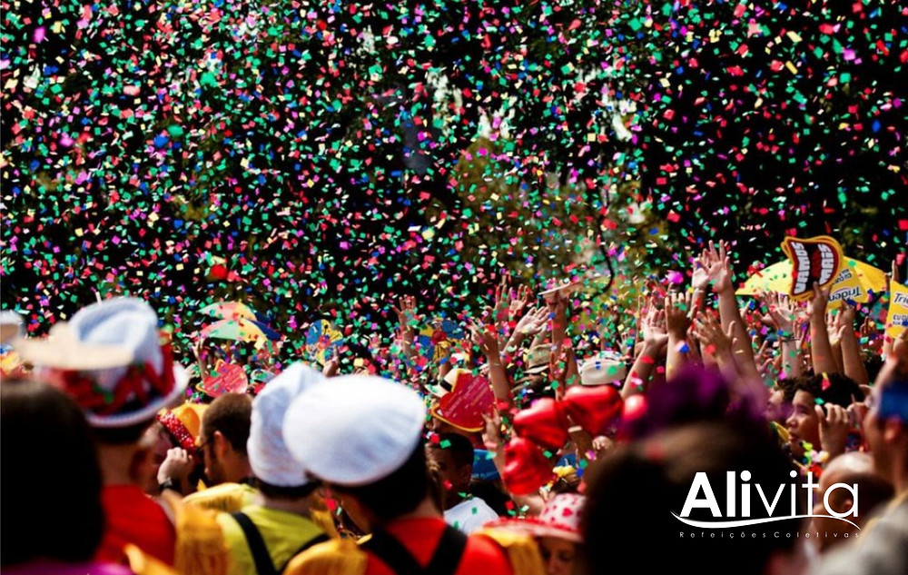 Carnaval com responsabilidade - Alivita Refeições Coletivas