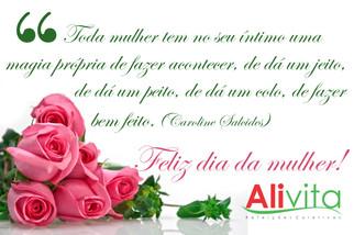 Homenagem da Alivita ao Dia da Mulher
