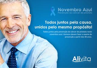 A Alivita apoia o novembro azul