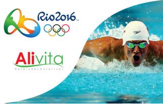 Alivita nas Olimpíadas - Natação