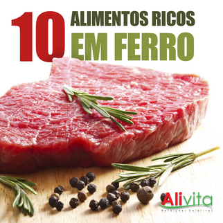 10 Alimentos ricos em ferro.