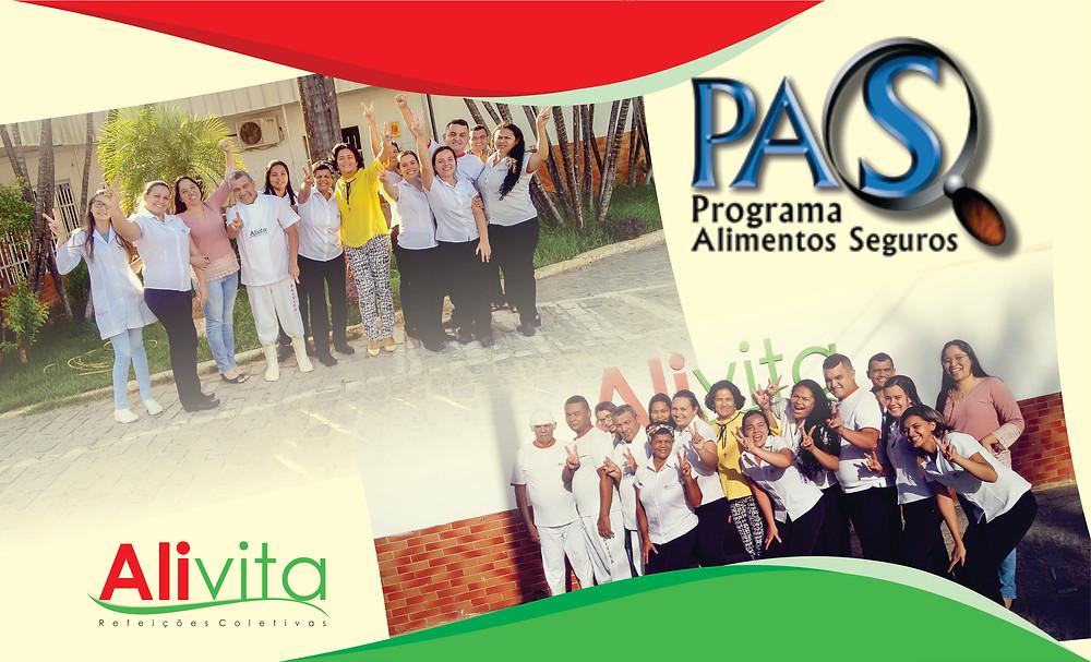 Certificado PAS UNIDADE PAJUÇARA - Alivita Refeições Coletivas
