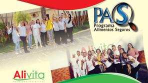 Alivita conquista certificado PAS - Unidade Pajuçara