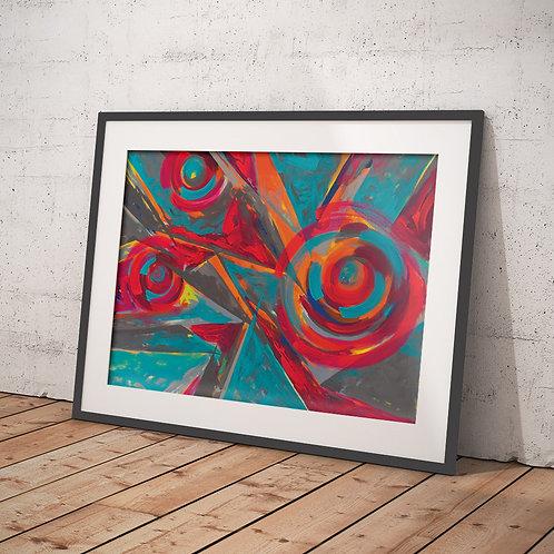 Pink Jazz by Giddy Art