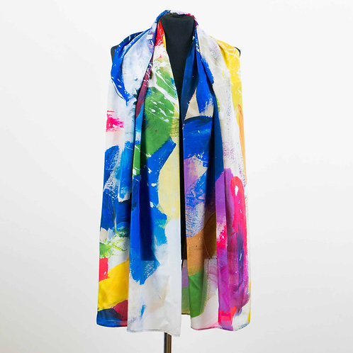 MULTI SILK SCARF
