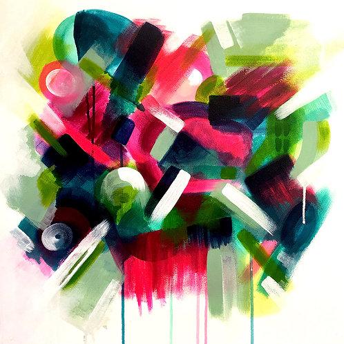 Green Jazz by Giddy Art