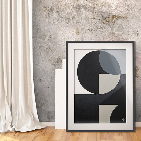 Black and White3 by Giddy Art
