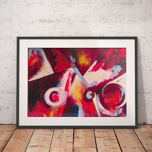 Jazz by Giddy Art