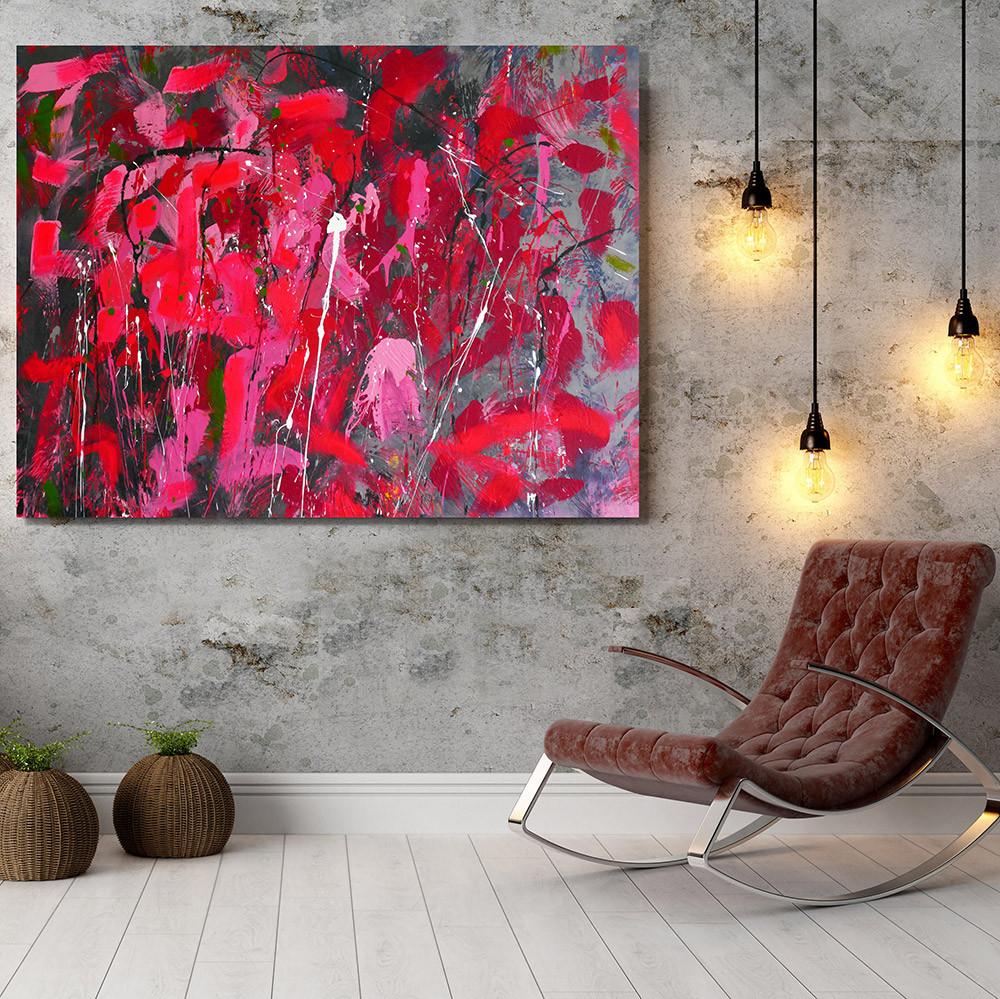 Giddy Art Fluorescent Pink