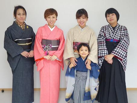 富士山着物工房さんとお子様に七五三着物を着せまくりました!