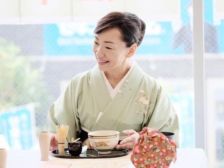 【参加申し込み受付中!7月9日開催】ゆるりと茶の湯♪きもの・ゆかたで夏のテーブル茶道体験