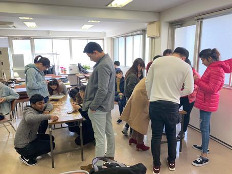 外国人留学生向け授業「ことわざかるた大会〜後編〜」