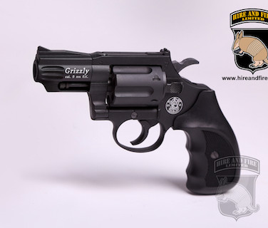 Smith and Wesson Grizzly revolver