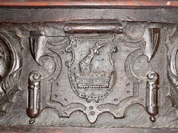 The Loft Chamber (1614) carved detail