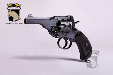 Webley Mk. V revolver