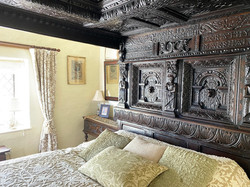 The tester bed from The Chamberlain's Great Chamber (1614)