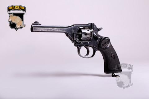 Webley Mk IV revolver