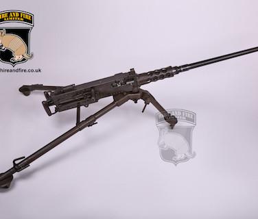 M2 .Browning .50 cal on tripod mount
