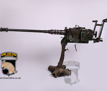 M2 Browning .50 cal (with anti aircraft mount[legs absent in photo])