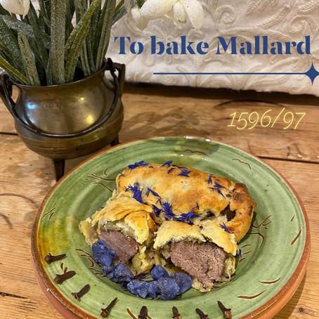 To bake Mallard: The Good Huswife's Jewell Book one – 1596, page 14Thomas Dawson
