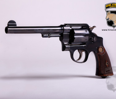 Smith and Wesson .455 revolver