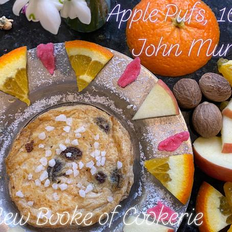 To make Apple pufs: John Murrell's New Booke of Cookerie