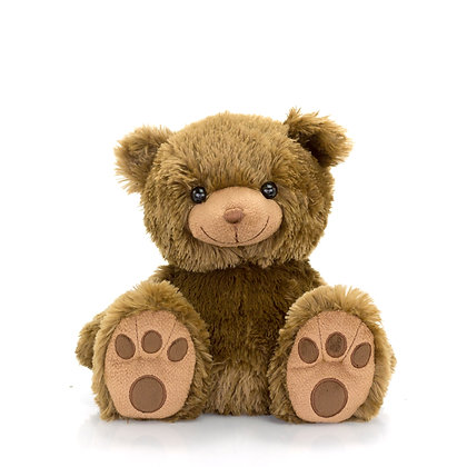 Brown Paw Bear with Hoodie