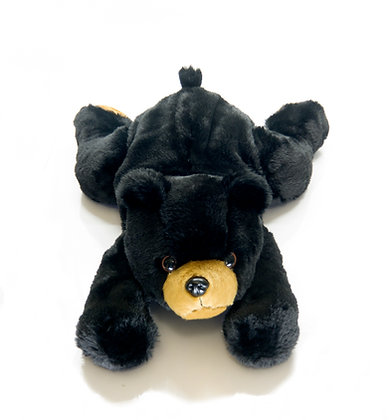Large Black Bear w/ Removable Pouch 4.5 Pounds
