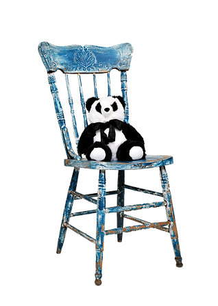 Comfy Buddy Heat Cold and Aromatherapy Weighted Panda Bear for calm, sleep, relaxation and grounding.
