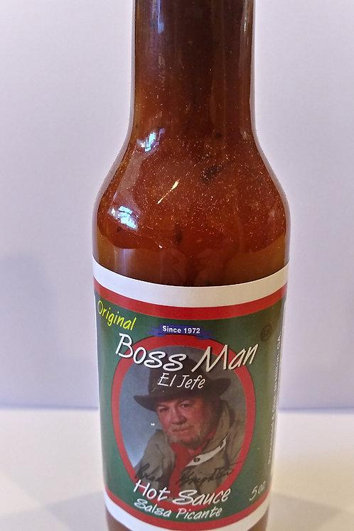 Boss Man Hot Sauce Salsa Picante