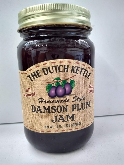 The Dutch Kettle Damson Plum Jam, 19oz
