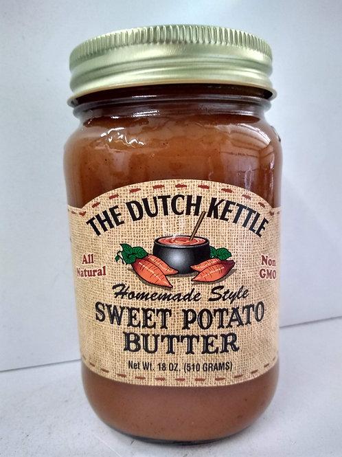The Dutch Kettle Sweet Potato Butter, 18oz