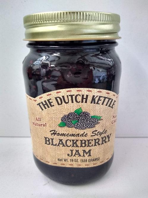 The Dutch Kettle Blackberry Jam, 19oz