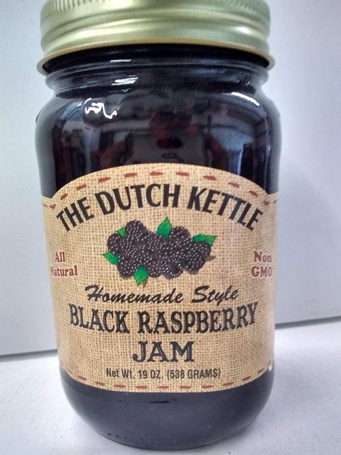 The Dutch Kettle Black Raspberry Jam, 19oz