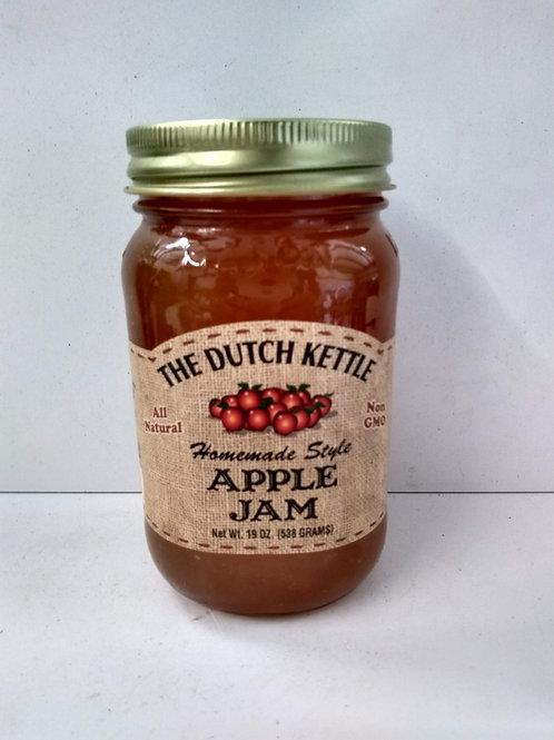 The Dutch Kettle Apple Jam, 19oz