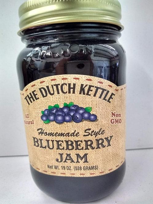 The Dutch Kettle Blueberry Jam, 19oz